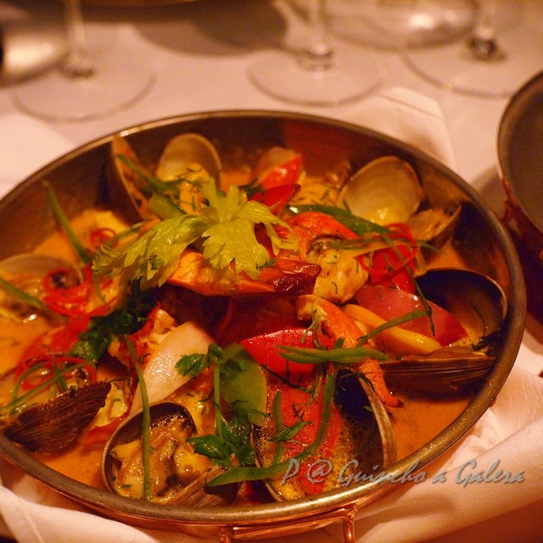 Guincho a Galera - 葡式燴海鮮鍋 (Stewed Seafood in 'Cataplana' Portuguese Style)