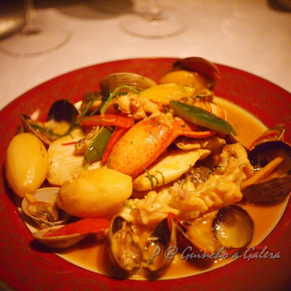 Guincho a Galera - 葡式燴海鮮鍋 (Stewed Seafood in 'Cataplana' Portuguese Style)