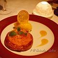 Guincho a Galera - 奶油烤柑橘伴橘子雪酪 ('Algarve' Clementine Gratin with Mandarin Orange Sherbet)