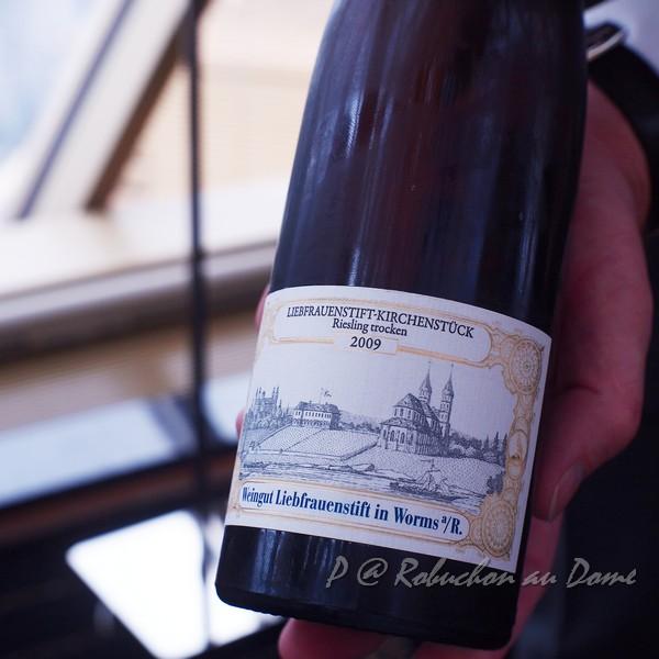 Robuchon au Dôme - Weingut Liebfrauenstift in Worms a/R - Liebfrauenstift-Kirchenstuck Riesling trocken 2009