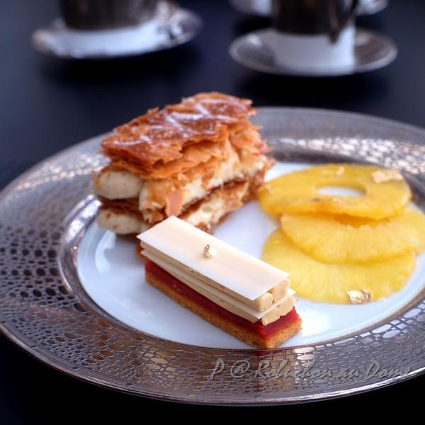 Robuchon au Dôme - 白巧克力焦糖蘋果蛋糕