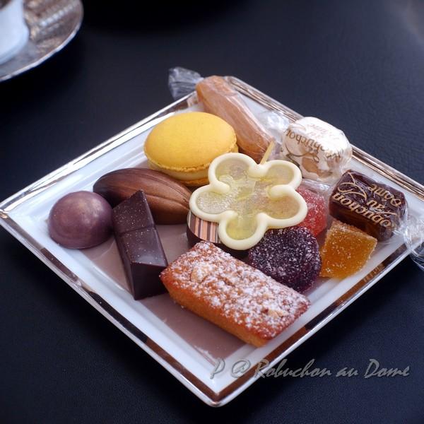 Robuchon au Dôme - 餐後小甜點