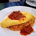 秀殿 - 蕃茄醬汁蛋包飯