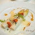 Cépage - 白蘆筍伴海膽 & 帕爾梅森起司