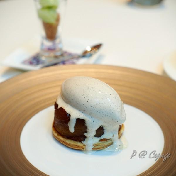 Cépage - 反烤蘋果塔伴香草冰淇淋