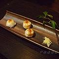 燈々庵 - 炙燒干貝壽司