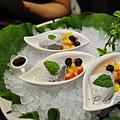 燈々庵 - 黑豆豆腐慕絲 水果