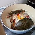 蒜香膏蟹飯 - 下鍋