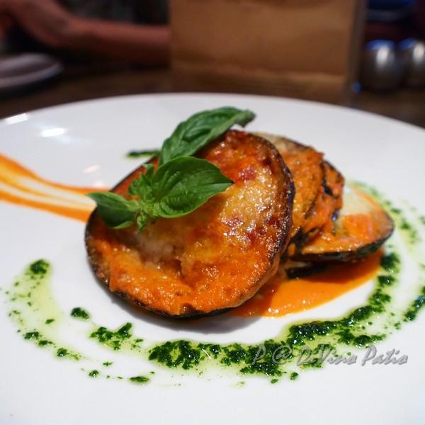DiVino Patio - 義式烤千層茄子