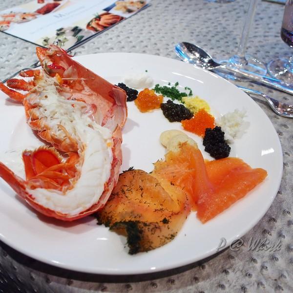 Whisk - 龍蝦、燻鮭、魚子醬