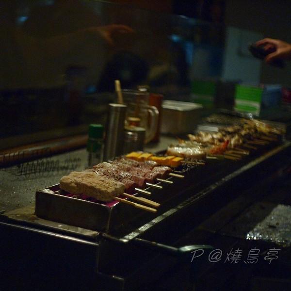 燒鳥亭 - 料理臺