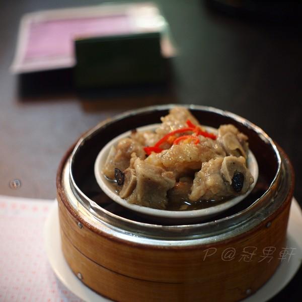 冠男軒 -- 豉椒蒸排骨