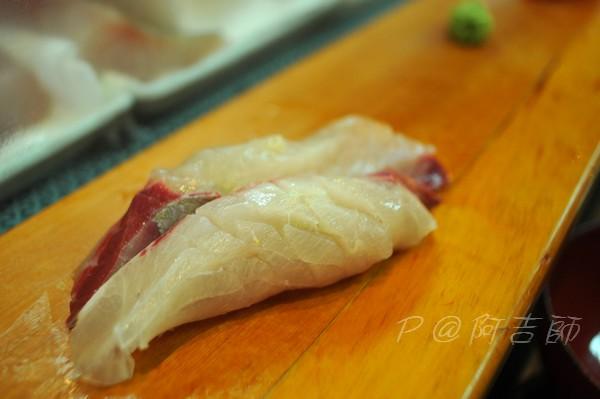 阿吉師 - 鯛魚壽司