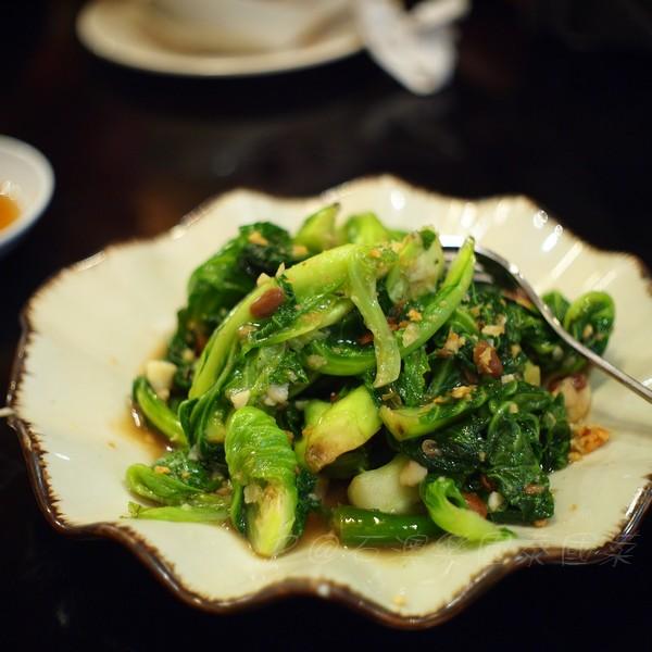 石澳樂園泰國菜 -- 炒高麗菜苗
