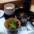千歲 - 筑前煮、燒鰤魚清湯、茶碗蒸