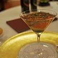 Don Alfonso -- 義式銀鱈魚及甜椒慕絲配水瓜柳汁