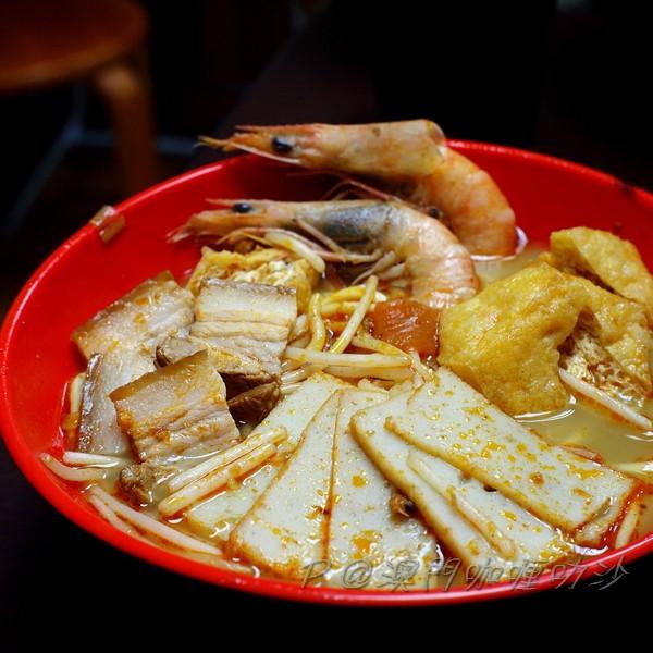 澳門咖喱叻沙 - 蝦麵
