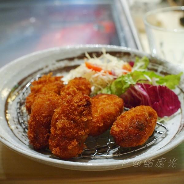 鮨処光 - 炸牡蠣