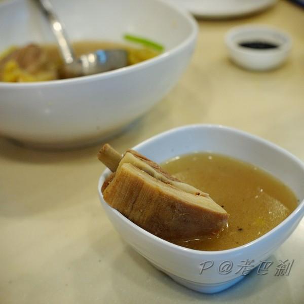 老巴剎 - 黑白胡椒羊腩湯