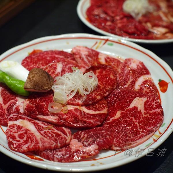 伊呂波 - 和牛肩肉定食