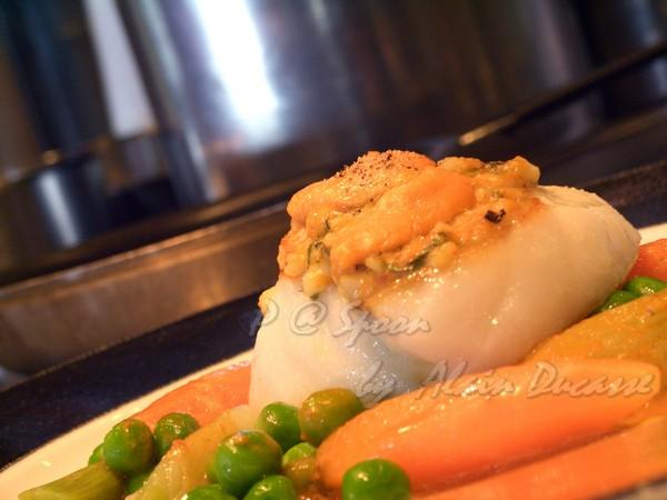 五月 -- 海膽烤海鱸 (1)