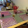 漂亮的餐桌擺設