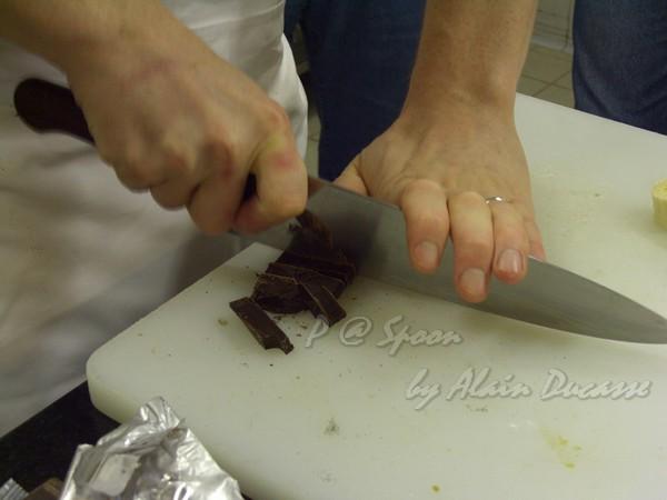 六月 -- 甜點師我們試吃純度 100% 的巧克力 (3)