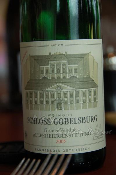 六月 -- 2006 Gruner Veltliner - Allerheiligenstiftung - Schloss gobelsburg (前)