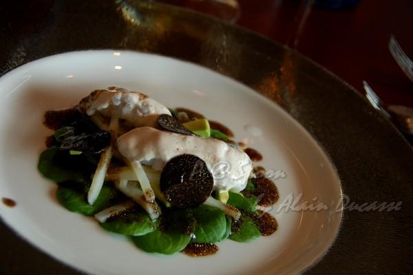 六月 -- 黑松露小螯蝦沙拉 (4)
