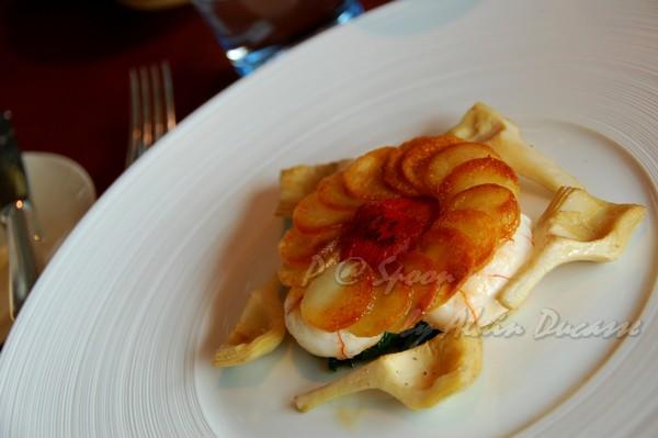 六月 -- 香煎小螯蝦伴薯脆 & 朝鮮薊 (2)