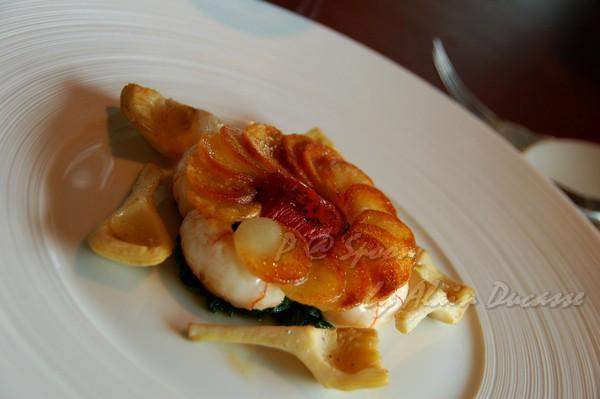 六月 -- 香煎小螯蝦伴薯脆 & 朝鮮薊 (3)