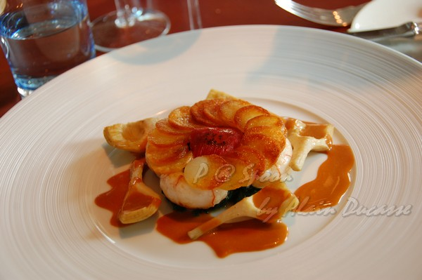 六月 -- 香煎小螯蝦伴薯脆 & 朝鮮薊 (4)