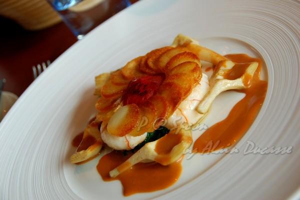 六月 -- 香煎小螯蝦伴薯脆 & 朝鮮薊 (5)