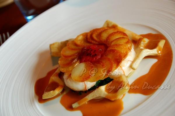 六月 -- 香煎小螯蝦伴薯脆 & 朝鮮薊 (6)