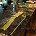 九月 -- 以切麵器切割麵條 (3)