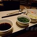 東來順 -- 調味料: 陳醋、香菜、蔥花、辣油