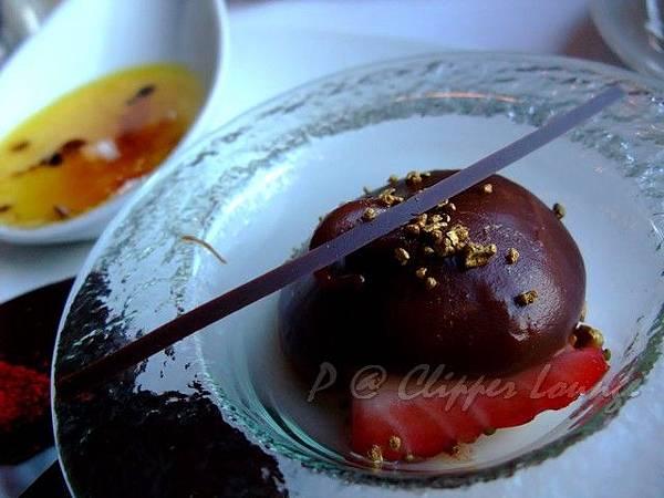 快船廊 -- 伯爵茶巧克力慕絲 (2)