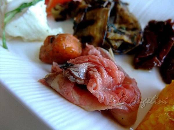 Angelini -- 薄切烤小牛肉
