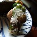 瓢亭別館 -- 菜之花天麩羅