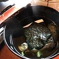 瓢亭別館 -- 豆腐湯