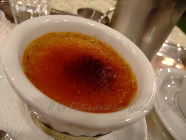 Patisserie au Grenier D'or -- 茉莉花茶焦糖燉蛋 (3)