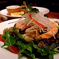 東洋亭 -- 海の幸サラダ (海鮮沙拉)