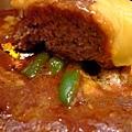 東洋亭 -- チーズハンバーグステーキ (起司漢堡排) (6)
