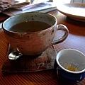 足湯カフェ -- しょうが湯 (生薑湯)