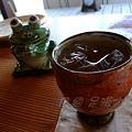 足湯カフェ -- 梅酒 (1)