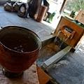足湯カフェ -- 梅酒 (2)