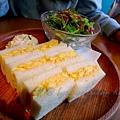 Iyemon Salon - 薩摩赤玉の玉子サンドウィッチ (薩摩雞蛋三明治)