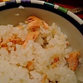 たちばな -- 把鮭魚肉拆碎拌飯