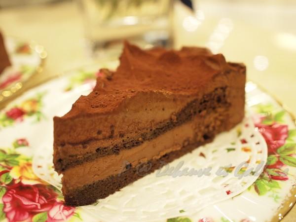Chocolat Debauve et Gallais -- 松露巧克力蛋糕