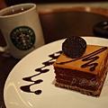 星巴克 -- 伯爵茶慕絲蛋糕